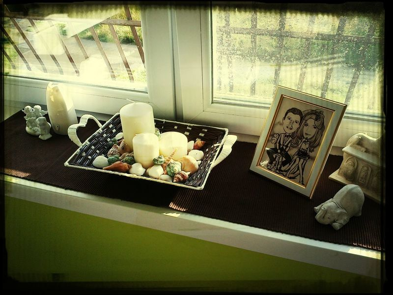Homemade Home Window Candles