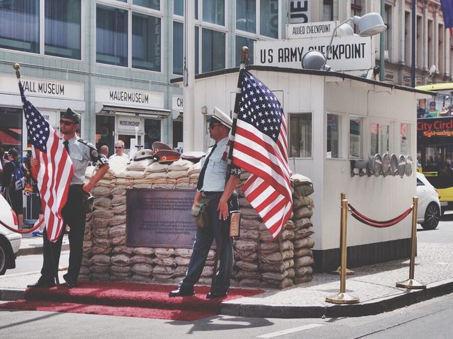 Checkpointcharlie Usarmy Berlin Germany Traveling Iamonmywaytoeverywhere