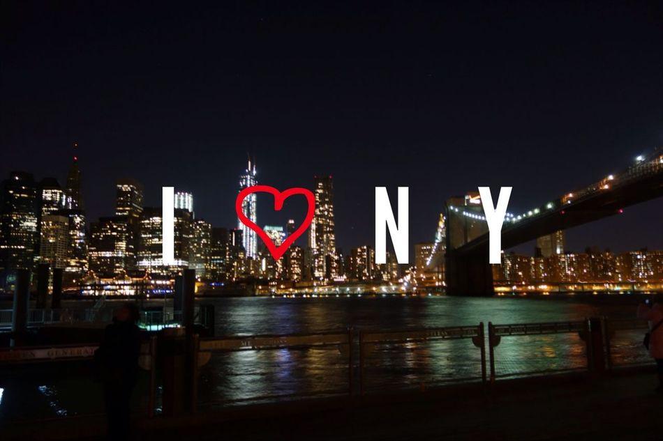 I♥NY. Hello World New York City Street