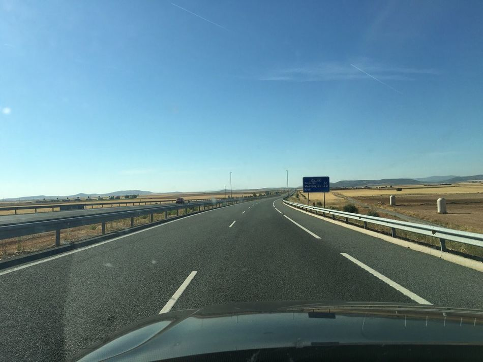 Transportation Road Diminishing Perspective Vanishing Point The Way Forward Car Road Marking Outdoors Open Road