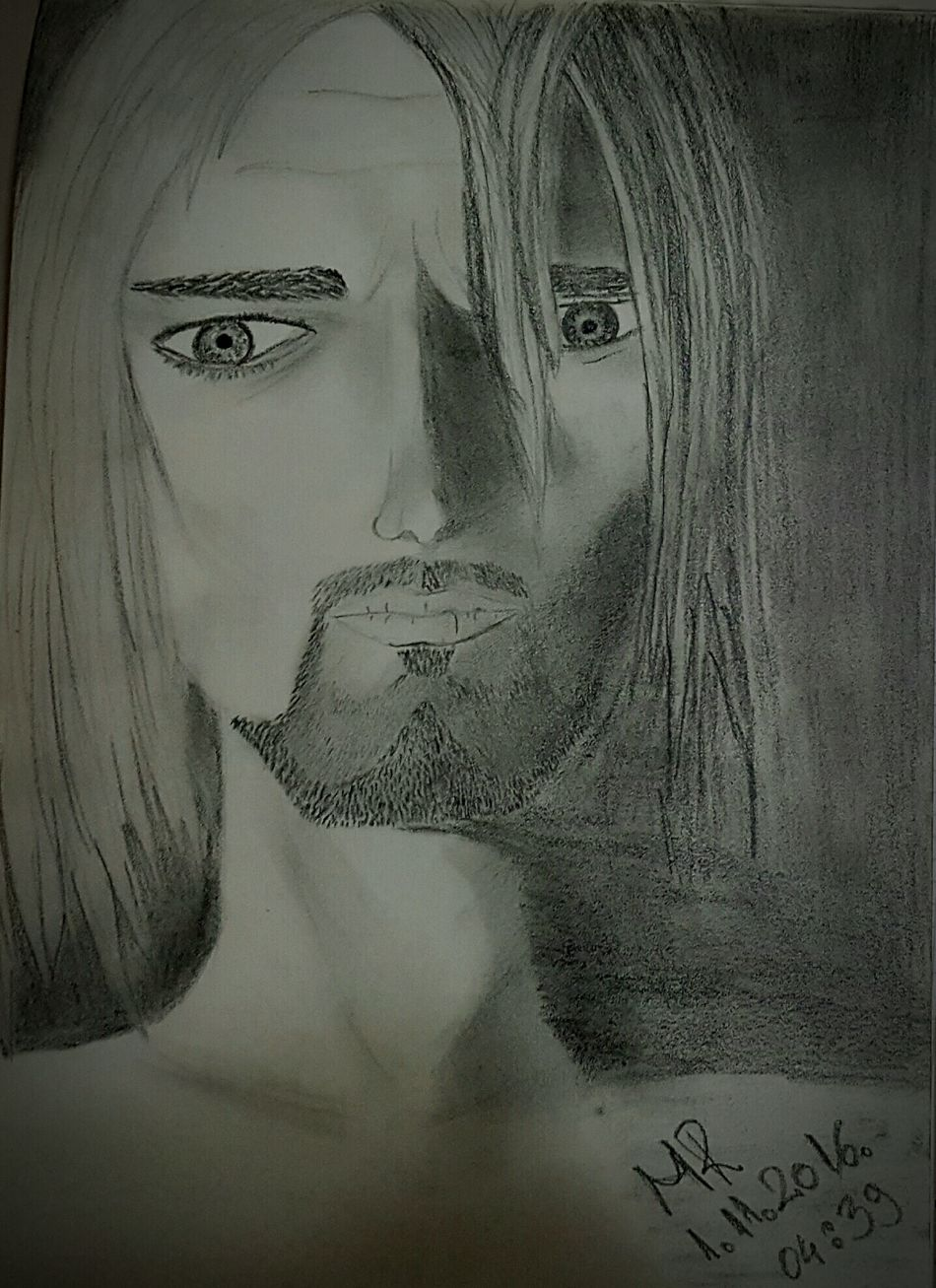 One Person Art Drawing ✏ Draw Drawn By Me Art Gallery Artistic Photography Drawing Time Art, Drawing, Creativity Love Drawing ❤