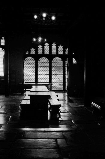 Black & White Blackandwhite Dinning Hall Eltham Flooring Great Hall Hall Medieval Monsalvat
