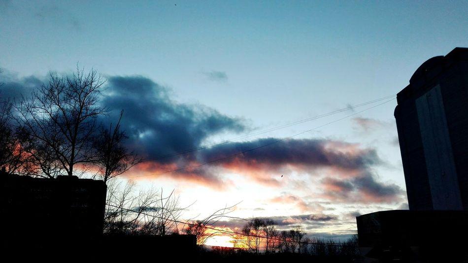 небо⛅️ необычно небо облака