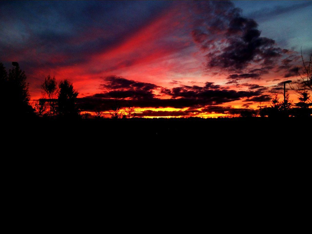 Sunset from the Molina car park. Molina Bothell Canyon Park First Eyeem Photo