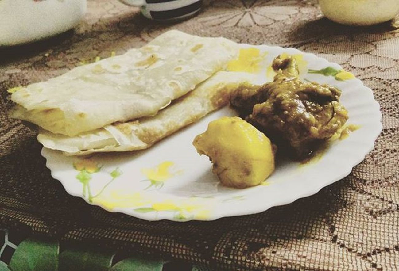 Lightdinner Paratha Chicken Potato ...