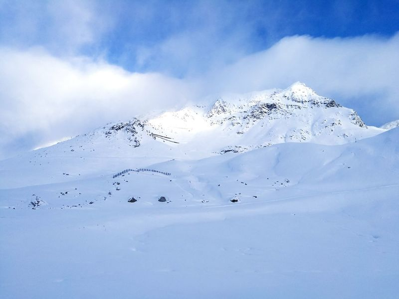 Skiing at 2500m was such a fantastic experience 🎿 Les Arcs Skiing Ski Ski Resort  French Alps Mountain Side White Clear Sky Nature Beauty In Nature Scenics Idyllic Day Tranquility No People Snow Tranquil Scene Awe Landscape Outdoors Winter Mountain Sky Wilderness