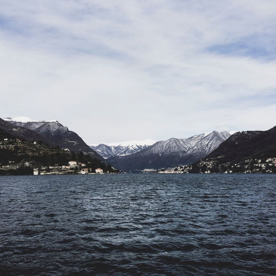 Landscape Lake Mountain Snow Water Winter David De La Cruz Delacruzfotografia Nature