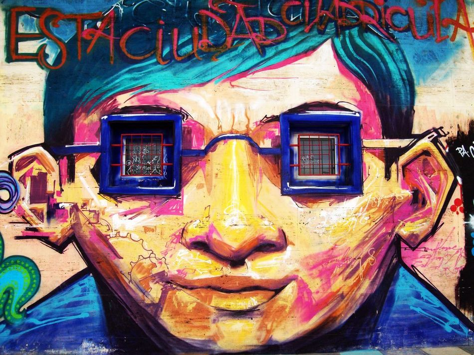 Architecture Art Is Everywhere Break The Mold Close-up Colorful Creativity Day Face Graffiti Multi Colored Outdoors SPAIN Street Art Street Art/Graffiti Streetart/graffiti Streetphotography