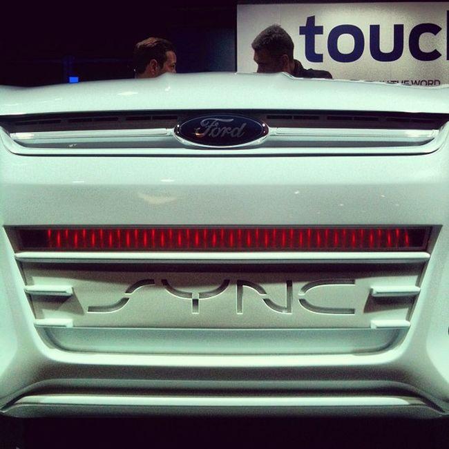 KIT El coche fantástico Sync Ford Mwc2013