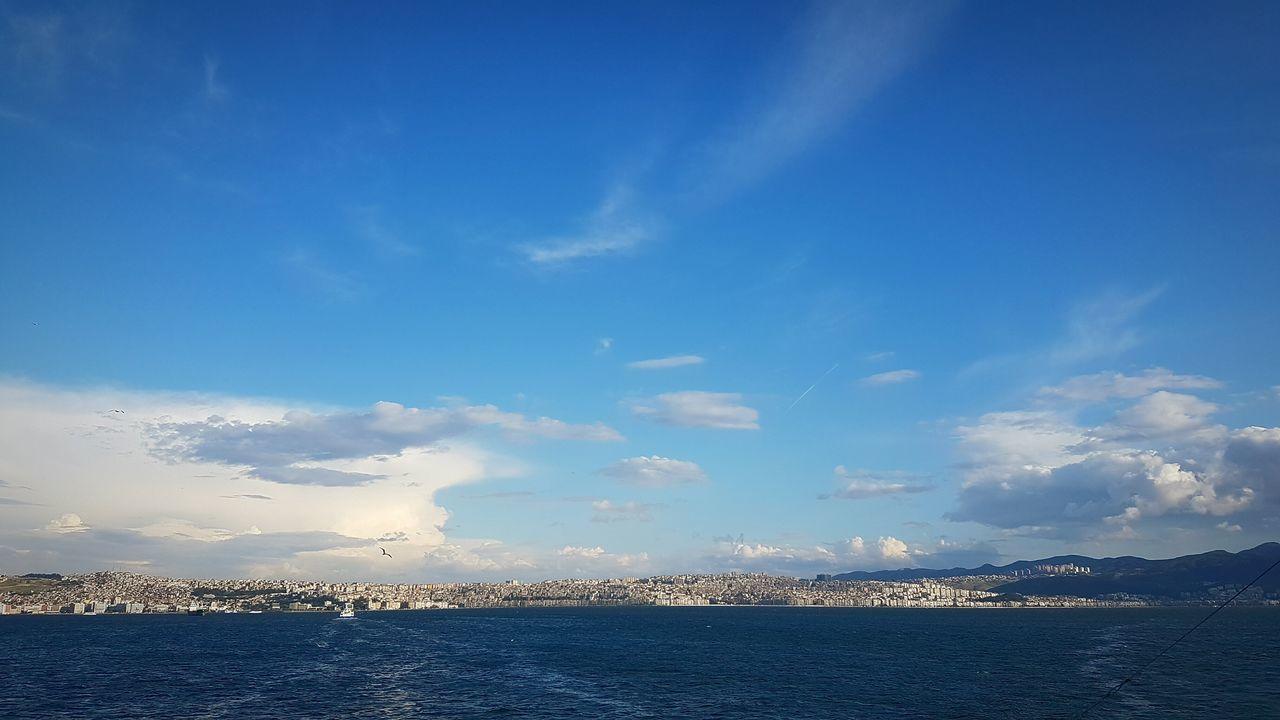 Seatrip Izmir Turkey Sea And Clouds Sea And Sky Clouds And Sky Sea