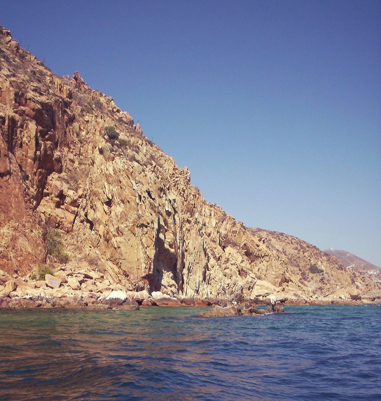 Blue Water Outdoors Nature Clear Sky Sea Day Beauty In Nature Sky No People Cabo San Lucas Mexico Vacations EyeEmNewHere Horizon Over Water Coastal Feature Tranquil Scene Rock - Object Rock Formation Rocks And Sea Rocks In Water Rocks And Water Pacific Ocean Copy Space