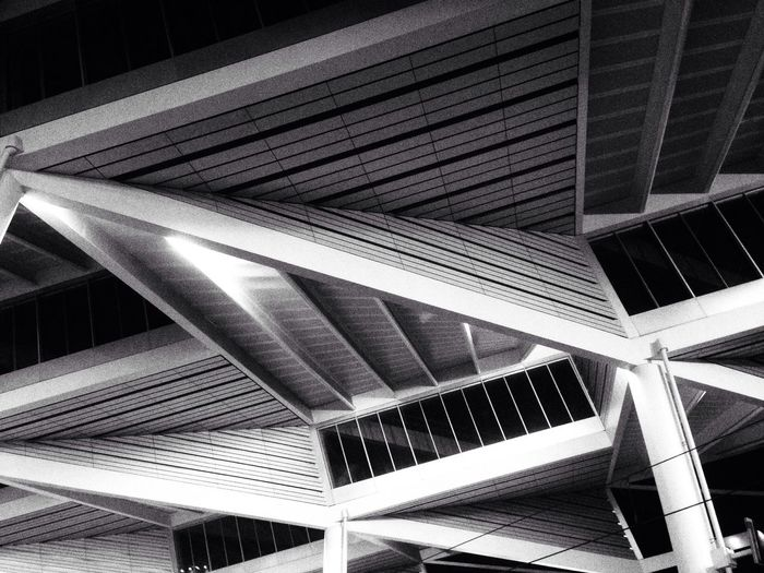 Untitled Architecture_bw Lines Geometry Abstract