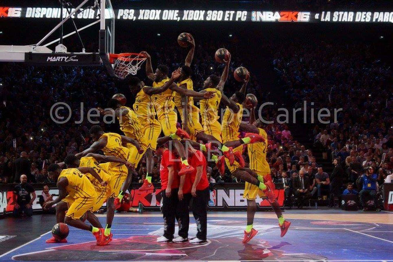 AllStarGame Allstargame2015 Basketball Dunk Basket Ball Paris Bercy