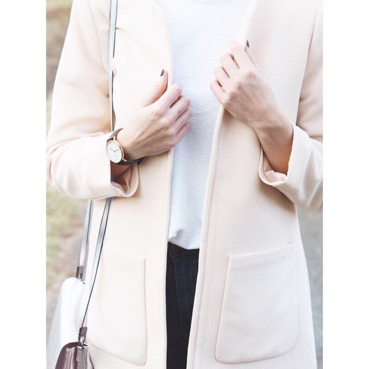 Millennial Pink in Love with My coat Rosa Fashion Fashionblogger Sunday Mode Accesories