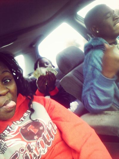 riding with baby and phill!!!
