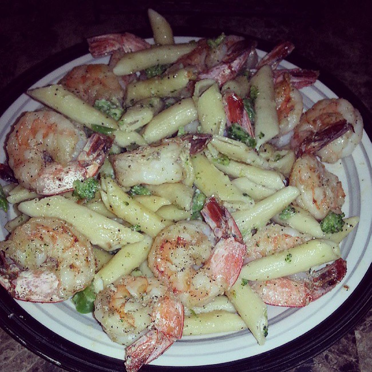 If he cooks for you keep him... <3 ShirmpAlfredo