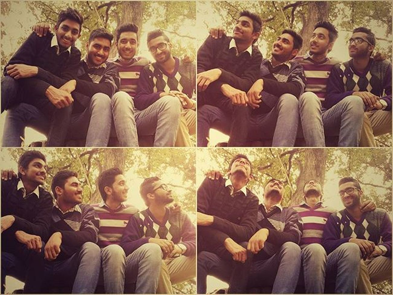 The Greatest Gift of Life is Friendship , and I Have Received it. Random Clicks by Timer Become d best Memory of our Chhatbirr Visit : Hahaha! These guys know what I mean....😊👌🙌😱😱😱😱😱