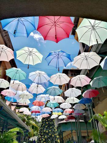 Raining ? nooooo.... Umbrella Mauritius Sun Colors Port Louis HuaweiP9 Christmas Decoration