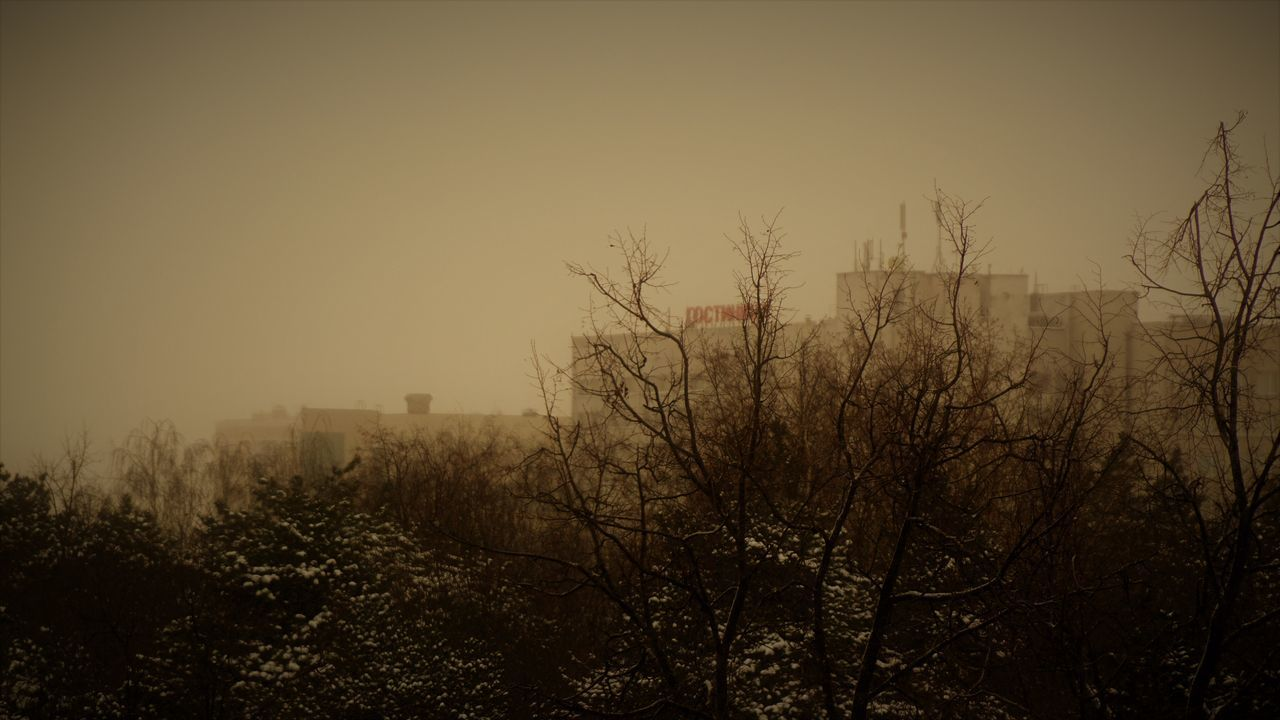 City Day Moscow No People Outdoors Sky Winter