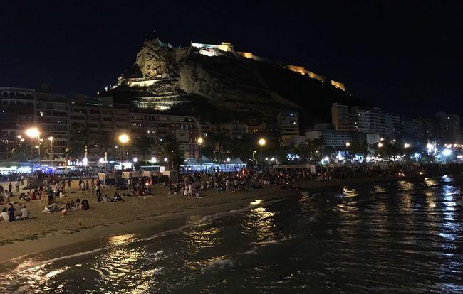 San Juans Night Alicante Beach Summer Solstice Night Vision Eyeem Photography Photo Collection Night Mediterranean Alicante Night The Moment - 2016 Eyeem Awards Enjoying Nature