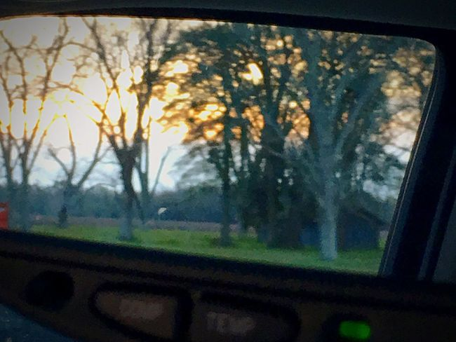 Watching The Sunset In My Rear View Mirror Beautiful Day Enjoying Life Macro Beauty ✌