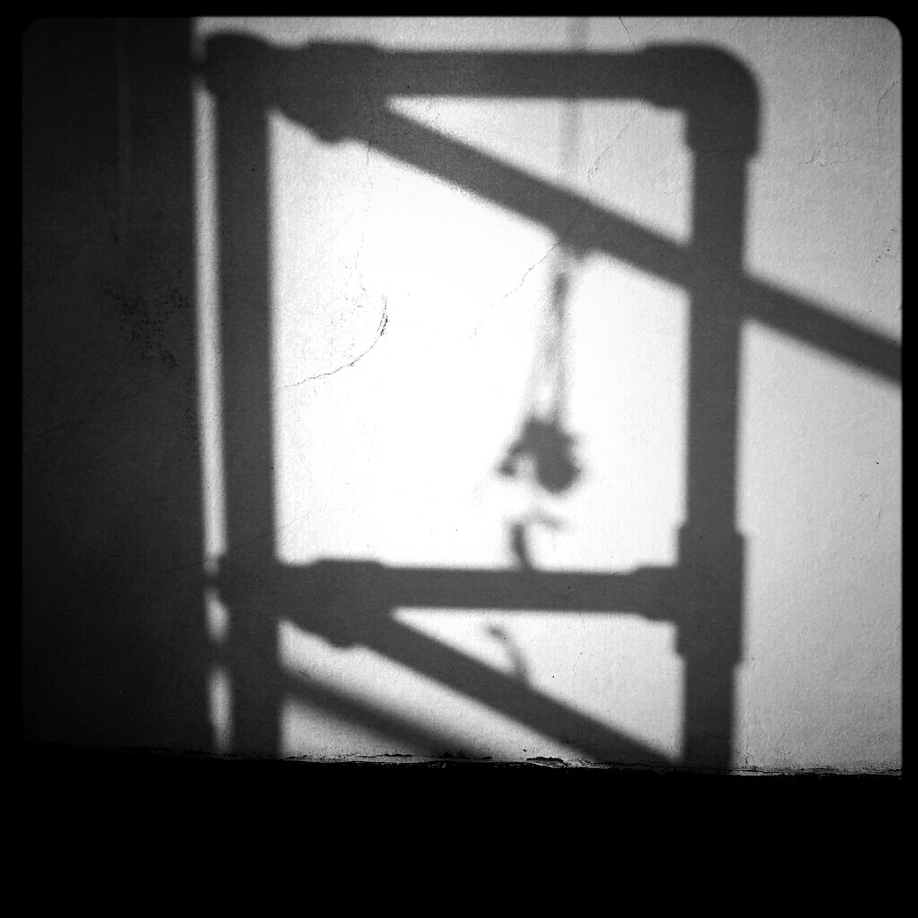 Checking In Abstract Blackandwhite Shadow