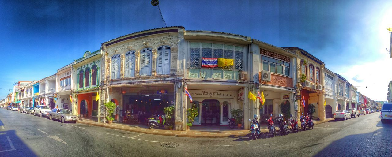 #oldcity #Phuket #view Architecture Built Structure City City Life No People Outdoors Road