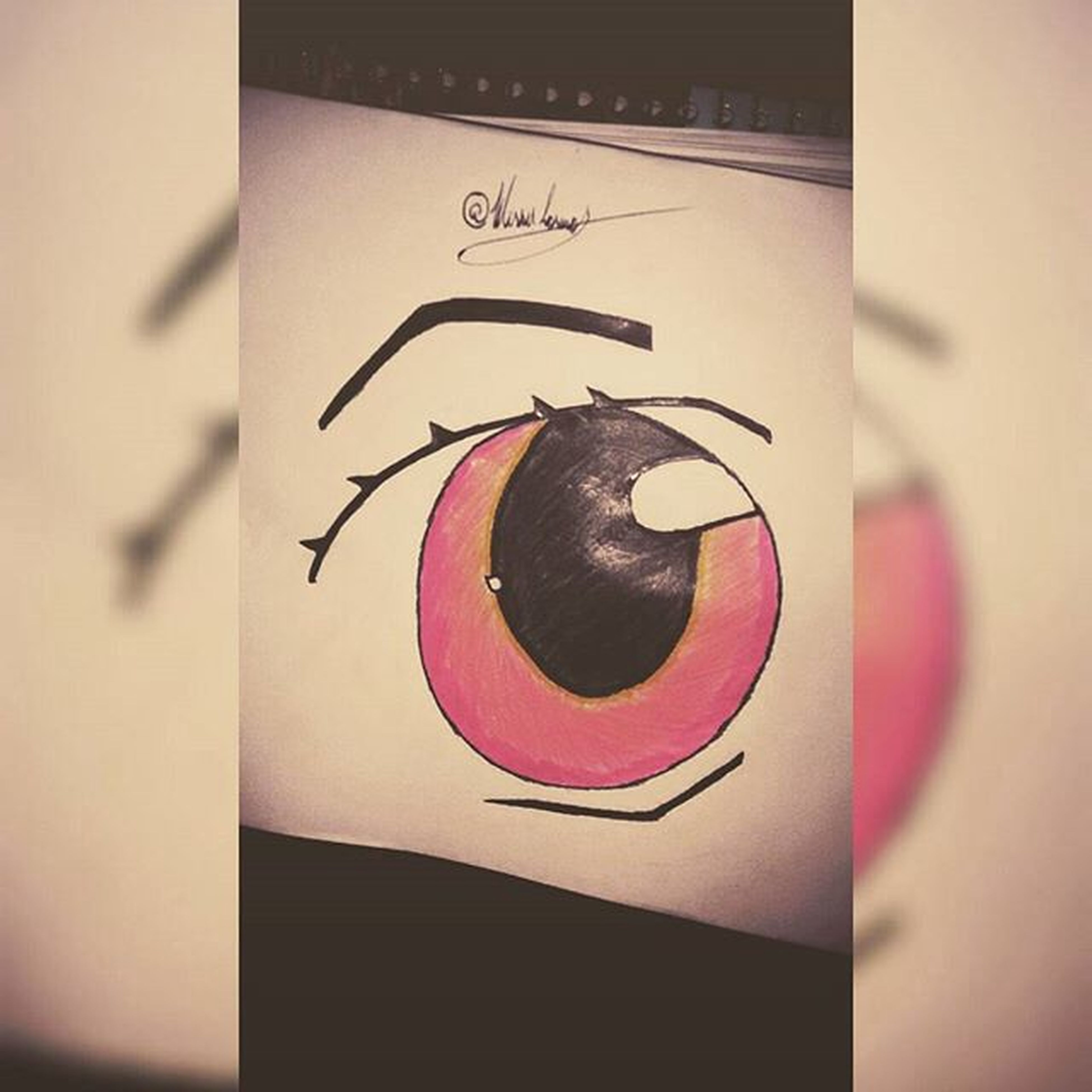 see everything as if for the first time. 😋 Drawing Eye Desenhoolho L4l Verygood Eyes Igers EuFiz