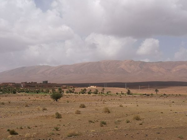 Landscape Cloud - Sky Desert Mountain Salt - Mineral No People