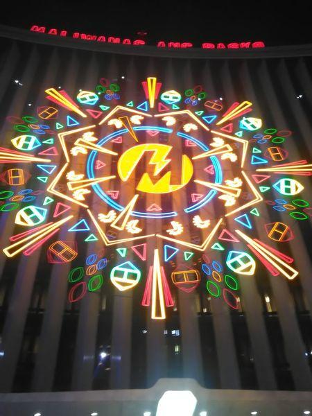 Maliwanag ang Pasko 🌌🌟🎆Multi Colored Illuminated Night Neon No People Outdoors Christmas Decoration Christmas Lights Christmas Lantern