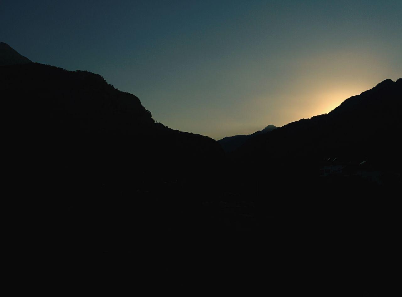Shot from Goynuk Canyon Park in Turkey My Year My View Landscape Mountain Sunset Atmospheric Mood Nature Sky No People Outdoors Hiking Travel Traveling Turkey Kemer Goynuk Summer Silhouette Göynuk Canyon Park