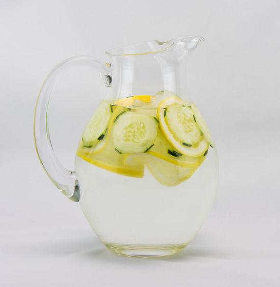 Beverage Cold Drink Cold Drinks Cucumber Water Drink Freshness Lemon Refreshment Drinks Water