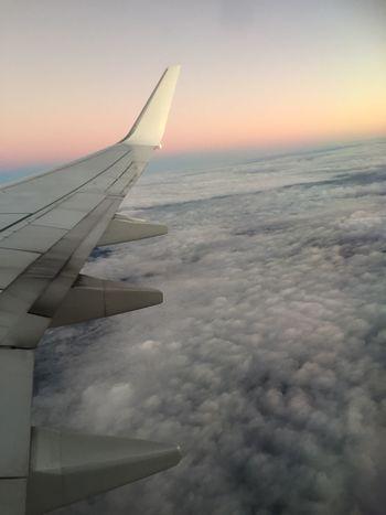 Plane Flight Always In The Air Cloudporn