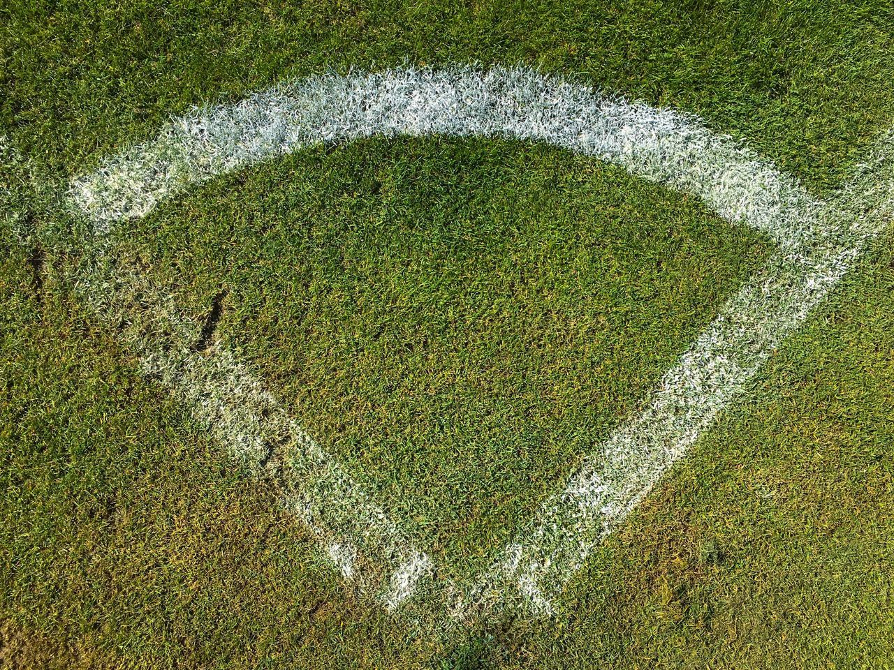 Grass High Angle View Green Color Day Outdoors No People Nature Sport Soccer Field Close-up Eyeem Market