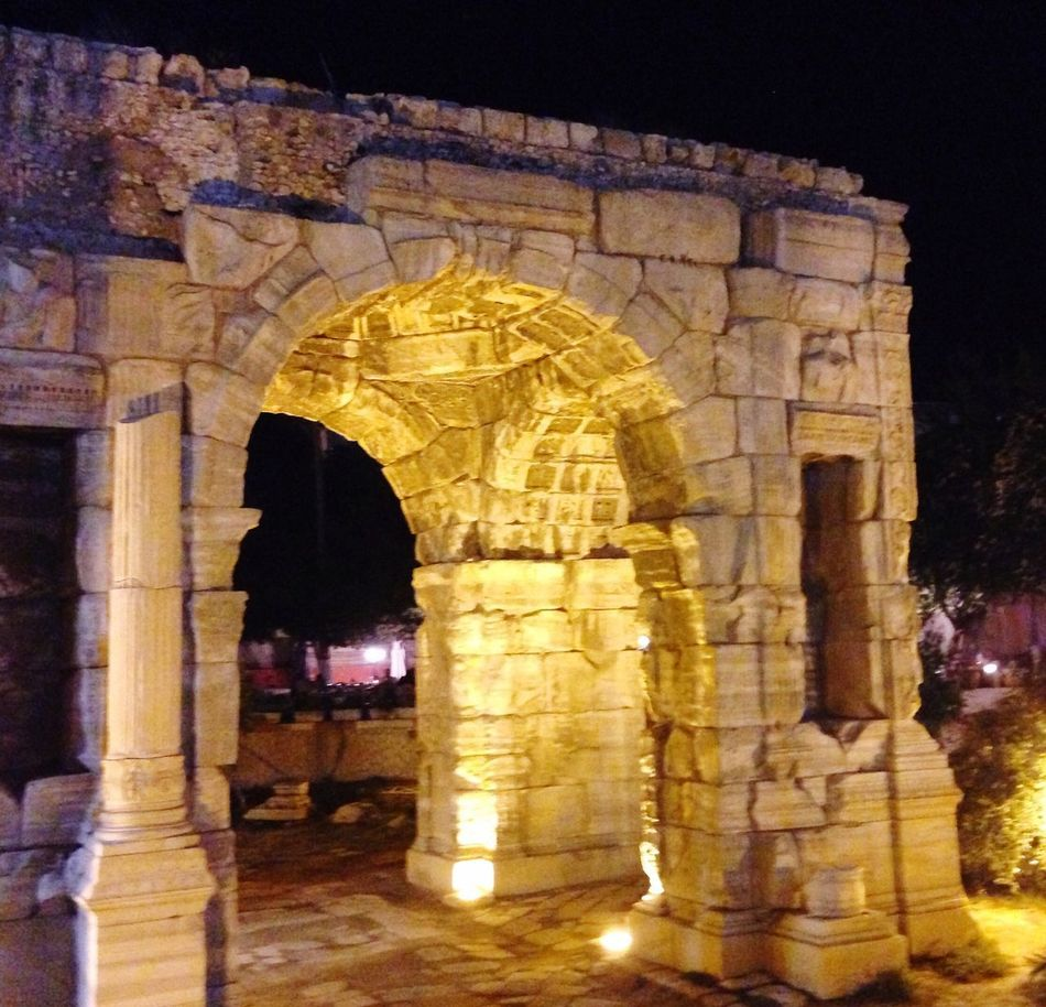 Building was constructed 163 years commemorates Marcus Aurelius and the Phoenician state - Tripoli - Libya