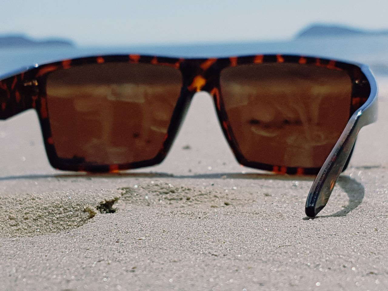 Sunglasses No People Sand Beach Relaxing Nature Uniqueperspectives Close-up Ocean Outdoors Sky Mica