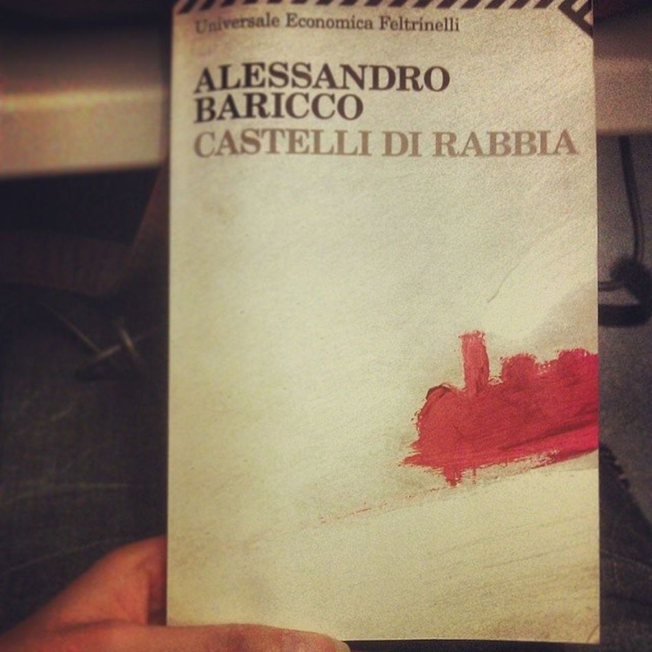 E buon viaggio Travel Book Train Baricco