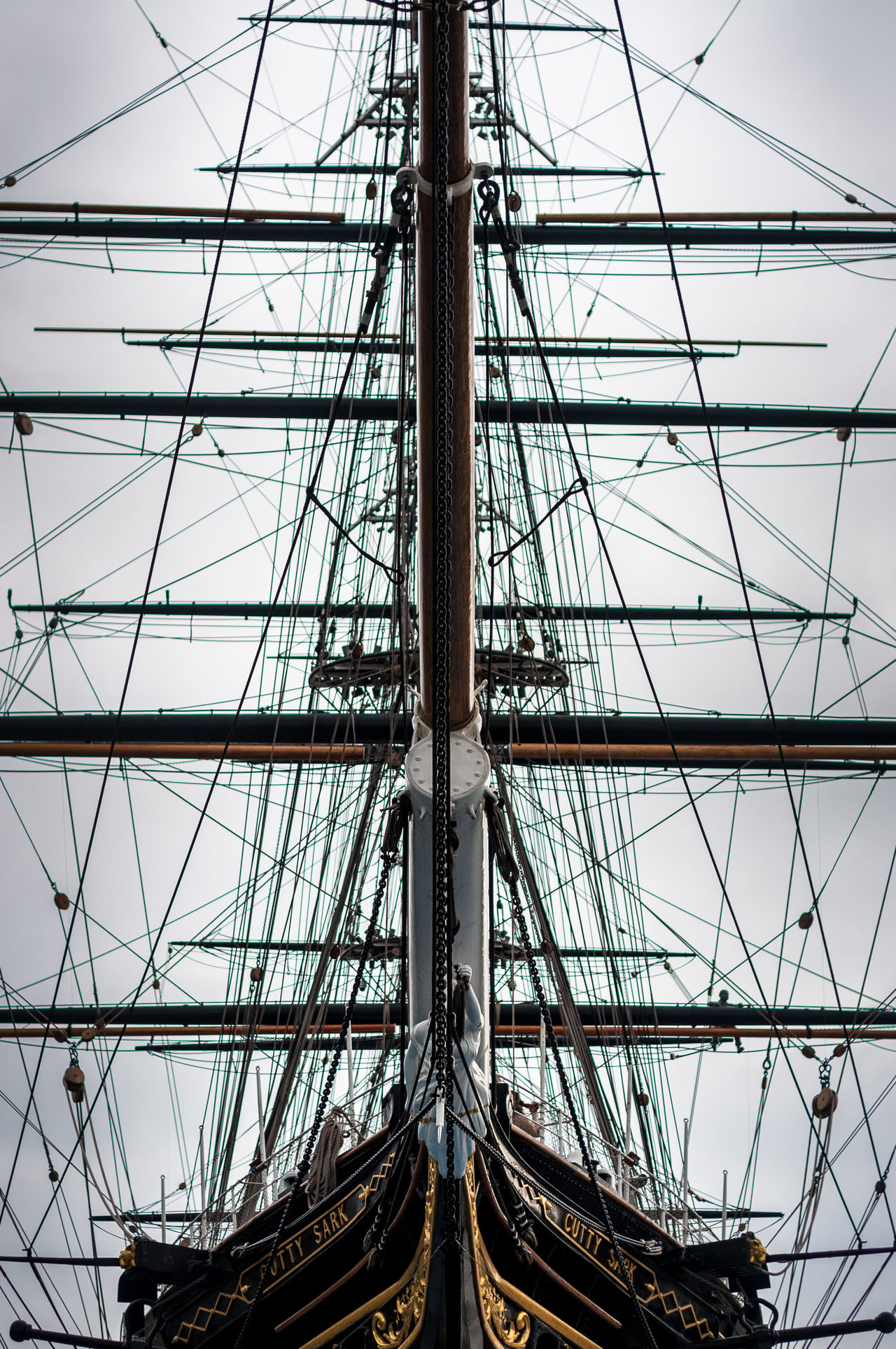 Boat Fregate Cutty Sark Greenwich London Sail Lieblingsteil