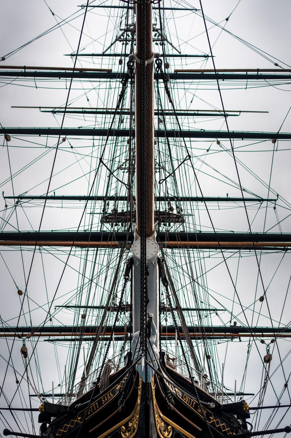Boat Fregate Cutty Sark Greenwich London Sail Lieblingsteil