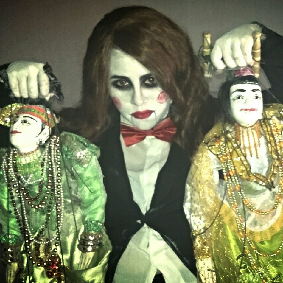 Taking Photos Photography Puppets Saw That's Me Holloween Sue_nandar_htet Diva_sndh Doll Doll