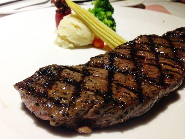 Birthday Dinner RePicture WealthYum Yum Beefsteak