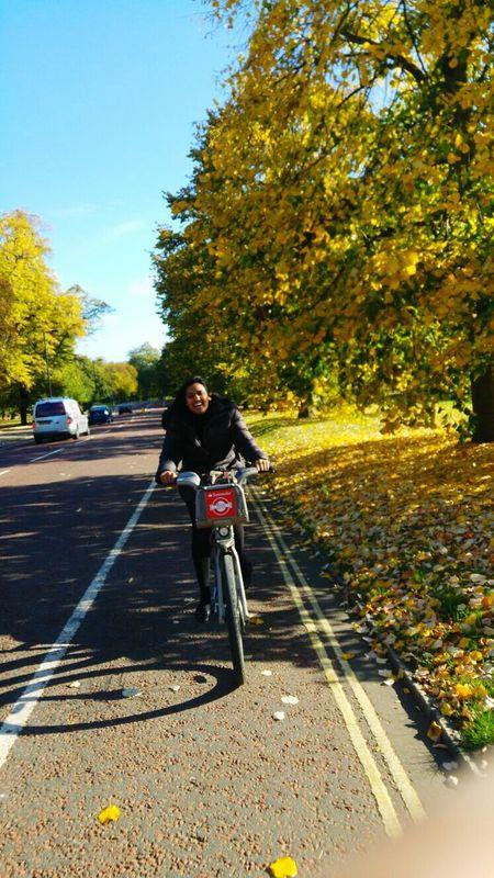 My happiness is with you Yogui London Bike