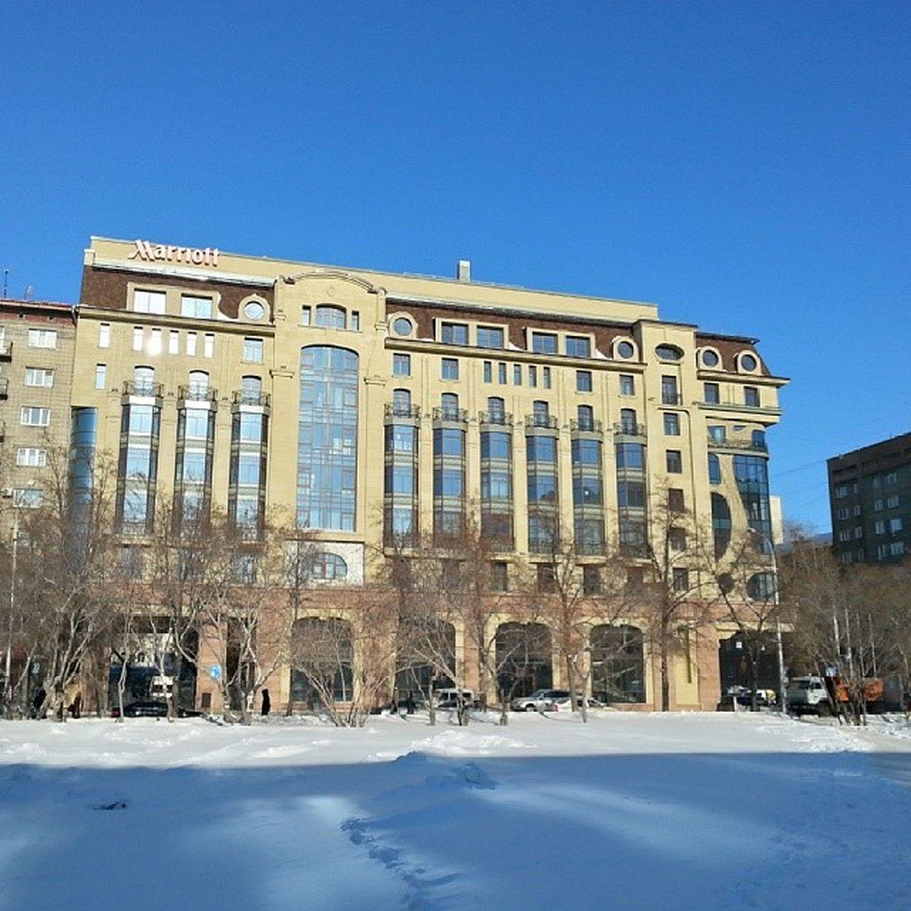 2014 -02-07, Новосибирск . гостиница Marriott / Novosibirsk. Hotel Marriott.