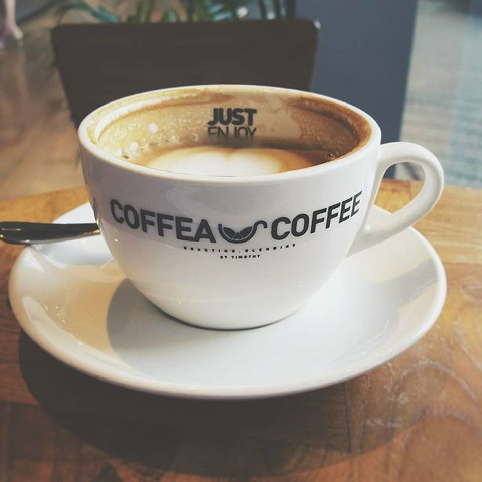 Escaped and get caffeinated. Justenjoy Coffee Vscocam