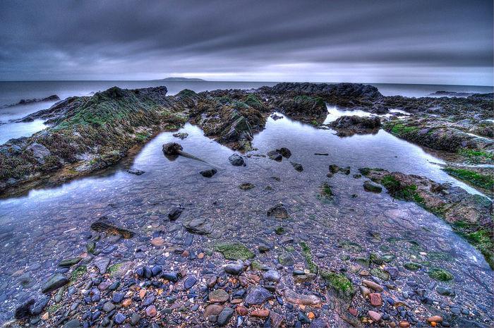 Learn & Shoot: After Dark Beach Ireland Dublin Coast Malahide  Dusk Long Exposure Evening Evening Sky Nikon Landscape