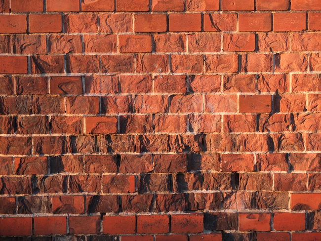 Brick Wall Full Frame Backgrounds Built Structure Architecture Wall - Building Feature Pattern Brick Repetition Brown Day Outdoors Red Conformity Vibrant Color No People Wall Border Borderline Fresh On Eyeem