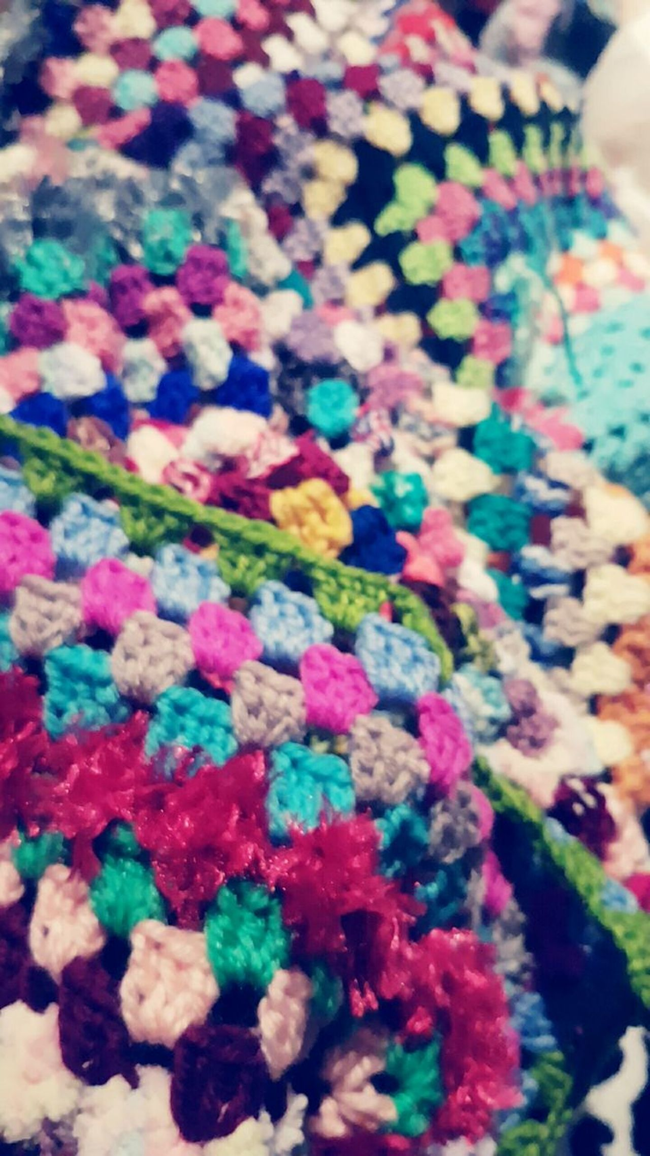 Make me a gypsy blanket... Multi Colored Close-up Indoors  No People Creating Craft Homemade First Eyeem Photo Art Is Everywhere Phone Photography Hobbyphotography Art And Craft Highlife Design Love Crochet Stitch Homemade With Love Blanket Full Frame Wool Colourful Gypsy Soul Gypsy