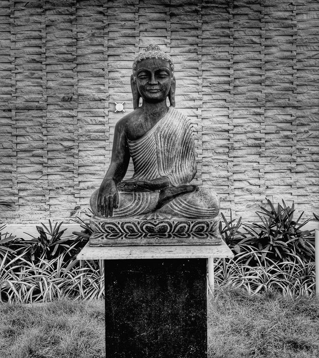 The mind is everything. What you think you become Statue Sculpture Human Representation Art And Craft Day History Creativity Buddha Buddha Image Buddhastatue BUDDHISM IS LOVE Buddhist Monks Buddha Temple Buddhism Culture