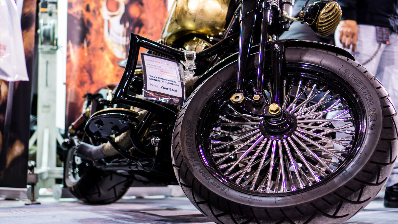 Price : Your Soul Athens Classic Hand Made Harleydavidson Low Angle View Motorcycles Priceless Sony