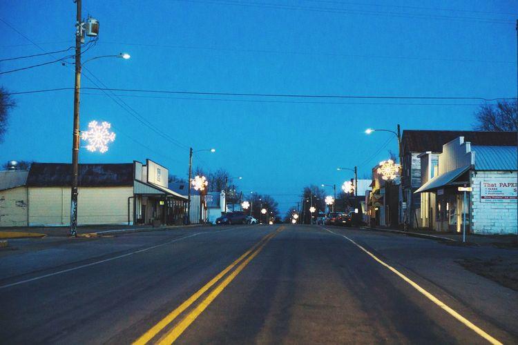 EyeEm Selects Road Transportation Outdoors Night The Way Forward No People Illuminated